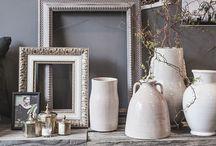 gris y blanco / Ceramica y diseño de interiores en blanco y gris