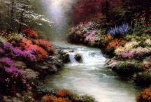 I love Thomas Kincade! Painter of Light!!!