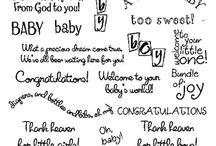 Sayings etc: baby