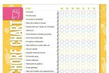 kids chores chart