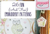 Craft & DIY: Needle Stitching / all about needle stitch crafting, diy and tutes!