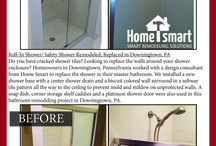 Safety Showers, Roll-In Showers, Handicap Accessible Showers, Walk-In Showers, Shower Enclosure Stal