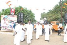 AISMK Party Members at Rameswaram Protest 1 February 2012