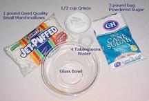 Marshmallow fondant / Coverings for cakes