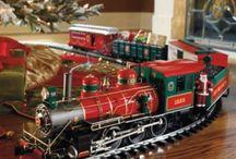Oh Noel train sets