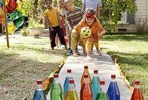 Festa infantil no quintal