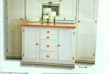 Fiesta Ware and Hoosier Cabinets