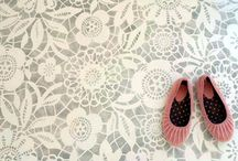 Stenciled Floors / by Shifrah Combiths