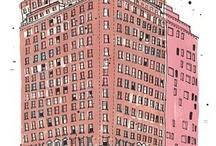 Buildings and renders