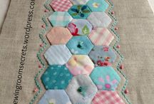 English Paper Piecing / Try your hand at one of these small projects! (Pun slightly intended). Tips, tutorials, and inspiration for English Paper Piecing.