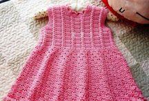DRESS BABY CROCHET PATTERN