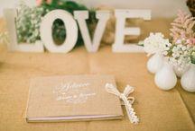 Guestbooks in Marry me in Spain weddings