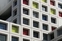 Fassaden farbig