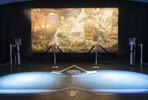 Assassin's Creed - Vernissage / Am 19.10.2013 lud Ubisoft zur Vernissage der etwas anderen Art!   Präsentation eines epischen 4,5x2,3m Seeschlachtengemälde inklusive Modenschau mit Stücken von Musterbrand.com