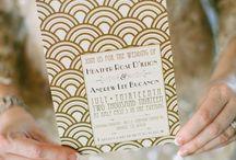 Great Gatsby Wedding / Gatsby Themed Wedding