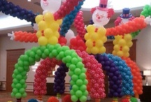 Balloon Ideas / by Bonnie Fisher