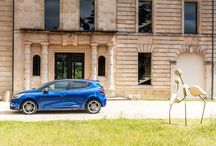 """New Renault CLIO GT / New Clio GT 120 EDC is versatile, high-end """"warm"""" model which boast Renault Sport's instantly recognisable cues, from their grille, front and rear bumpers and specific lip spoiler, to their sills, 17-inch wheels, offset LED daytime running lights"""