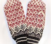 mittens / sweater mitts