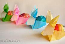 Origami para huevos