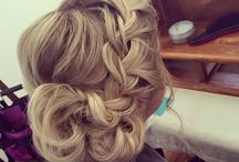 Beauty. Hair. Nails. Makeup. / Different styles