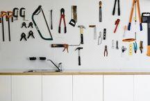 Garage/work shop organisation