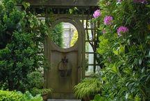 garden gates / by Dottie Crosley