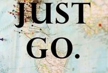 Travel Quotes / Wander with us :) with these motivational travel quotes.