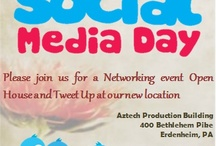 Social Media Day / #smday is a world wide event. PJ's & Coffee Social Media will be celebrating in the Philadelphia area!  / by Chris Visco