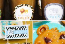 Birthday Party Ideas / by Monica Guevara