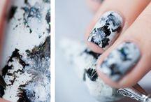 Gems & stone nails inspirations