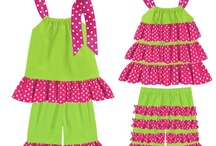 toddler/baby outfits / by Dorothy Simnitt