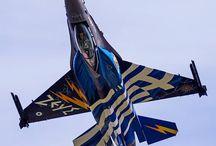 Zeus - F16 Hellenic Air Force solo demo