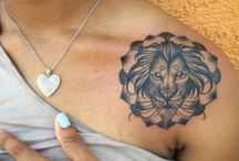 Lion Tattoos / These tattoos are eternally liked by men, who take it as a symbol of leadership and masculinity, but these look equally good when adorned on the body of a woman. http://fabulousdesign.net/lion-tattoos-designs-ideas/