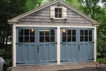 garage. shed. poolhouse. / by inspired (vintage.home.design)