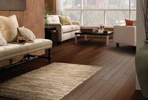 Hardwood / There's nothing like a hardwood floor for natural beauty, warmth and ease of cleaning. Its distinctive grains and swirling burnished figures add a classic touch throughout your home. Hardwood's rich character never goes out of style.