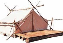 Tent & Tent platform