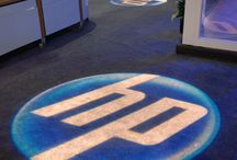 Corporate Event Ideas / #Uplighting and #gobo #monogram #projector examples for your #event or #corporate #reception ! #DIY #Inspiration #Ideas #cocktail