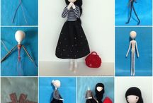 Diy handmade doll