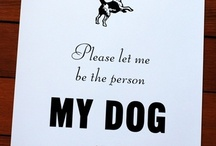 Dog lovers / by Julie Caliel Boney MYSMALLWALL