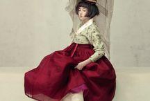 한복+중국옷