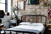 camas respaldo hierro