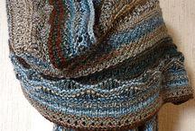 Knitting Shawls  / by Christy James