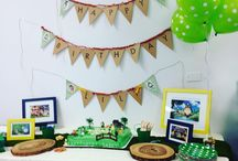 Totoro party! / Totoro party decorations, cake & favors
