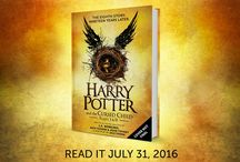THE EIGHTH HARRY POTTER STORY.  NINETEEN YEARS LATER. READ IT ON JULY 31ST! / THE EIGHTH HARRY POTTER STORY.  NINETEEN YEARS LATER. READ IT ON JULY 31ST!   BASED ON AN ORIGINAL NEW STORY BY J.K. ROWLING, JACK THORNE & JOHN TIFFANY.   A NEW PLAY BY JACK THORNE.  #CursedChild  #HPScriptBook / by Scholastic Canada
