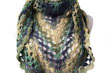 crochet shawlette free pattern