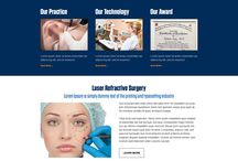 cosmetic surgery landing page
