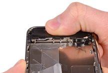 Sustitución del conjunto de altavoz del iPhone 4S / Para sustituir el conjunto de altavoz de iPhone 4s, siga los pasos siguientes.