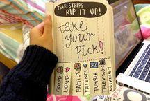 Nyírd ki ezt a naplót! Ötletek