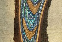 mosaic in wood inspirations