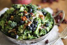 Soups / Broccoli &Blueberry Yogart